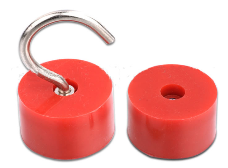 Rubber Coated Magnetic Hooks